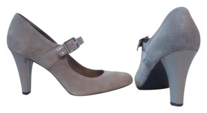 Merona Grey Suede Pumps