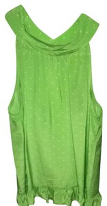 Lilly Pulitzer New Green Halter Top