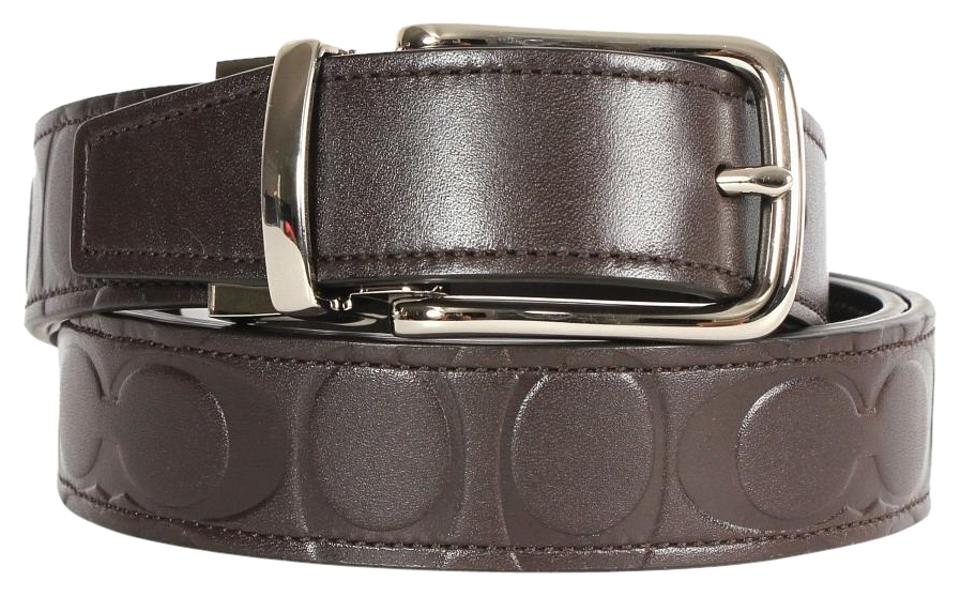 53345c1c Coach Smama Men's Leather Cut To Size Reversible (Boxed)(Ship Via Priority  Mail) Belt