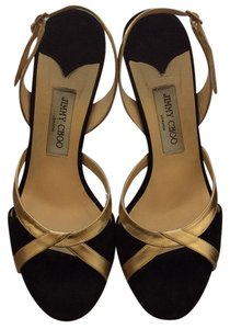 Jimmy Choo Gold/black Formal
