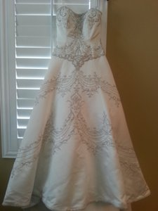 Jasmine Bridal Jasmine Haute Couture A-line Wedding Dress