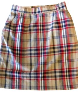Talbots Skirt plaid