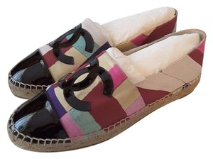Chanel Espadrilles Multi-Color Flats