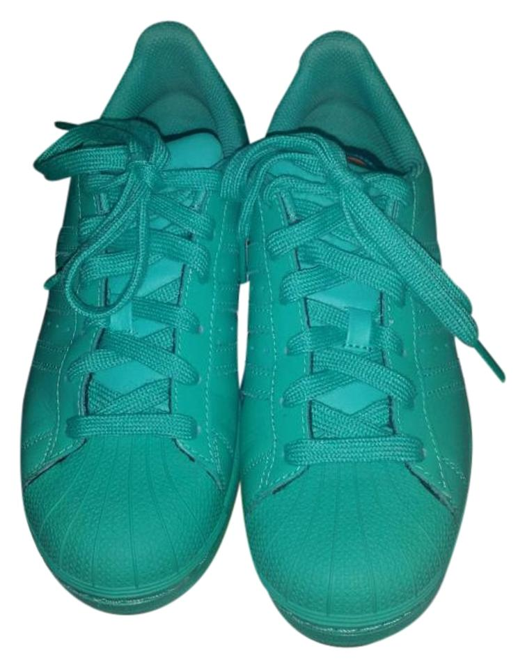pretty nice 6764e c6c0b adidas Teal Superstar Supercolor Sneakers