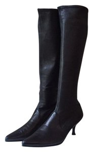Stuart Weitzman Stiletto Boot Black Boots