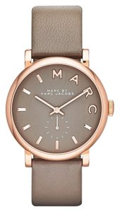 Marc by Marc Jacobs MARC JACOBS 'Baker' Leather Strap Watch, 37mm