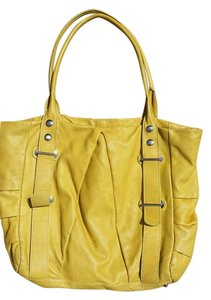 Ted Benson Tote in mustard yellow