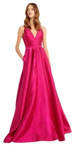Monique Lhuillier Prom Wedding Gala Formal Ballgown Dress