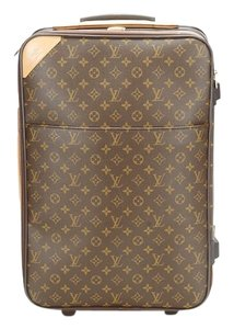 Louis Vuitton Pegase 55 Brown Travel Bag