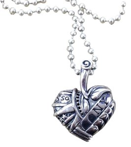 Lagos Lagos Heart of NY Sterling Silver 925 Pendant