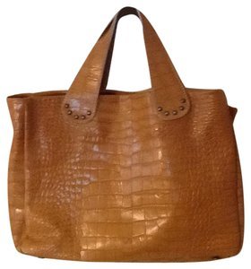 Regina Tote in Tan