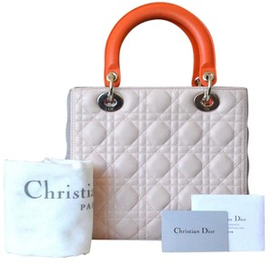 Dior Christian Lady Tote in Multi
