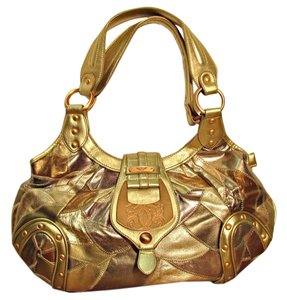 Sharif Metallic Shoulder Bag