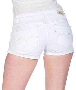 Levi's Jean Denim Mini/Short Shorts White