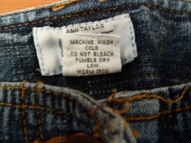 Ann Taylor Loft Rugged Boot Cut Jeans-Medium Wash