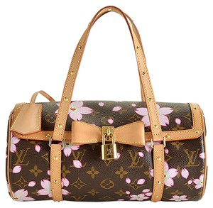 Louis Vuitton Purse Satchel in brown
