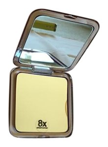 Compact make up magnifying mirror