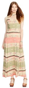 Ralph Lauren Maxi Beige Soft Polo Rl Dress