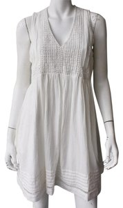Joie short dress White Cotton Lwd on Tradesy