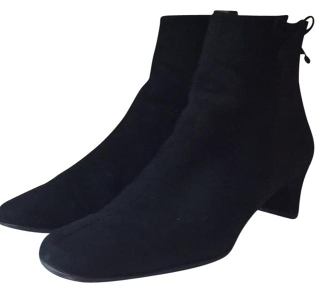 Item - Black Suede Ankle Boots/Booties Size US 8.5 Wide (C, D)