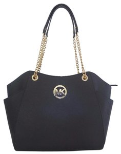 Michael Kors Saffiano Leather Large Saffiano Shoulder Bag