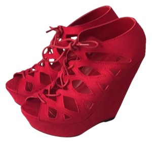 Call It Spring Red Wedges