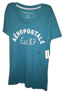 Aéropostale T Shirt Teal/Turquoise