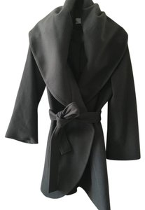 T Tahari Wool Viscose Pea Coat