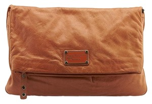 Marc by Marc Jacobs Leather Orange Clutch