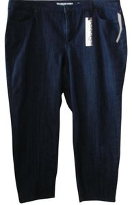 Jones New York Relaxed Fit Jeans-Dark Rinse