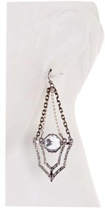Jessica Simpson Jessica Simpson Statement Crystal Glam Pave Chain Dangle Earrings