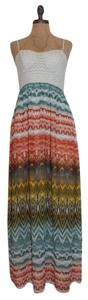 MULTI COLOR Maxi Dress by Windsor Maxi