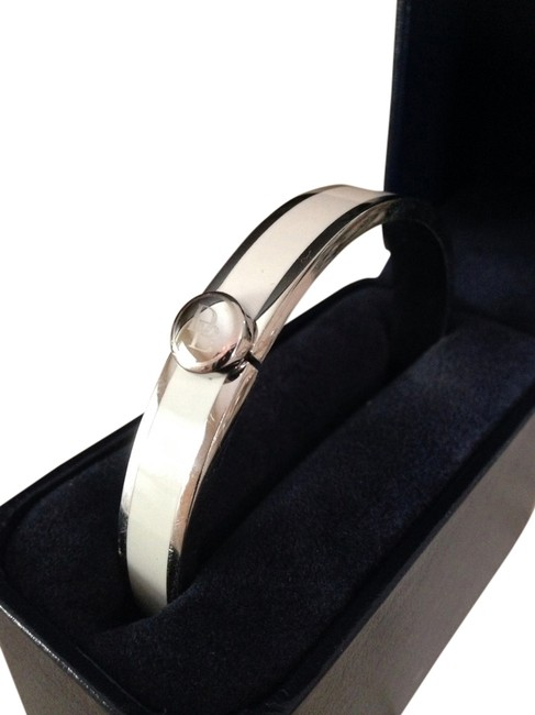 Item - White Silver And Bangle