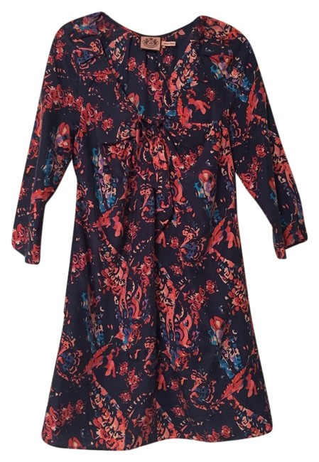 Juicy Couture short dress Floral Paisley Silk on Tradesy