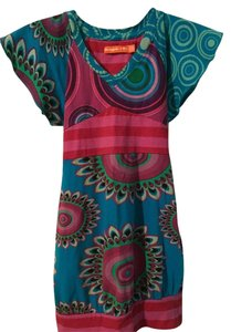 Desigual short dress Blue on Tradesy