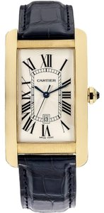 Cartier Mens Cartier Tank Americane large model 18k gold