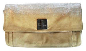 Marc Jacobs Suede Leather Beige Clutch