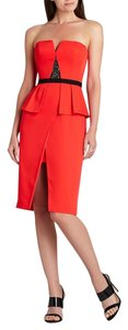 BCBGMAXAZRIA Bcbg Poppy Strapless Dress