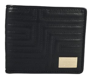 Versace NEW Versace Wallet Black Leather