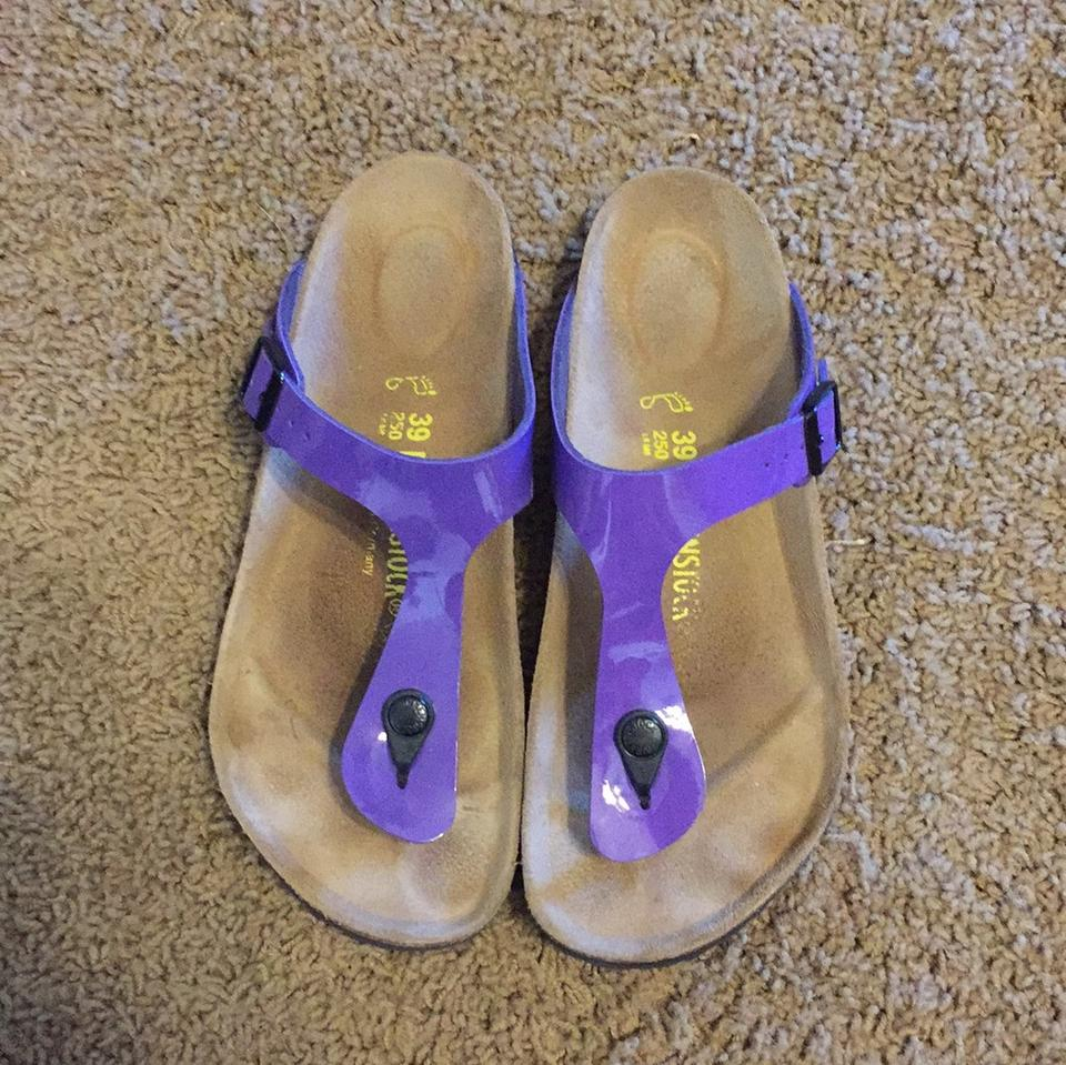 Birkenstock Purple Gizeh Sandals Size Us 9 Regular M B Tradesy Sendal Flat Lisa
