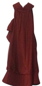 Carmen Marc Valvo Top burgandy