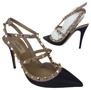 Valentino Heels High Heels Navy Pumps