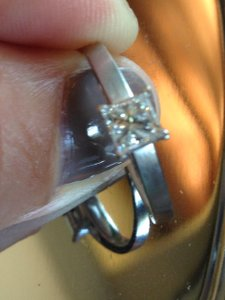 Kay Jewelers Princess Cut Engagement Ring