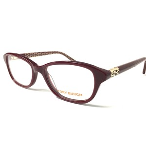 Tory Burch Women's Tory Burch Burgundy Eyeglasses Optical Frame