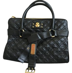 Marc Jacobs Leather Quilted Handbag Shoulder Bag