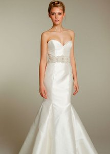 Never Been Worn--ivory Mikado Trumpet Gown- Style #2155 Wedding Dress