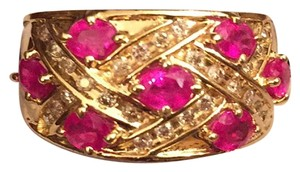 Other Price Just Reduced! Price Just Reduced! 14k Yellow Gold Ruby Diamond Ring