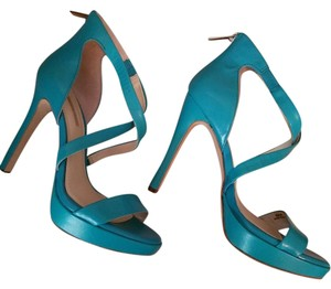 BCBGeneration Chic Leather Sandal Turquoise Sandals