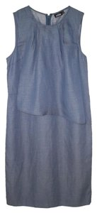 Kate Spade short dress Chambray Tencel Layered Blue on Tradesy