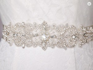 Beaded Bridal Sash, Bridal Belt, Wedding Belt, Crystal Sash